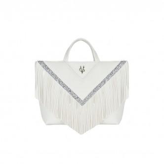 VG30 shopping bianca frange